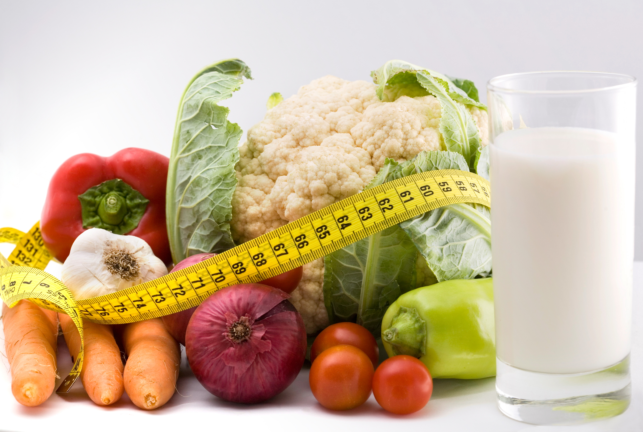 veggies and milk to lose weight naturally